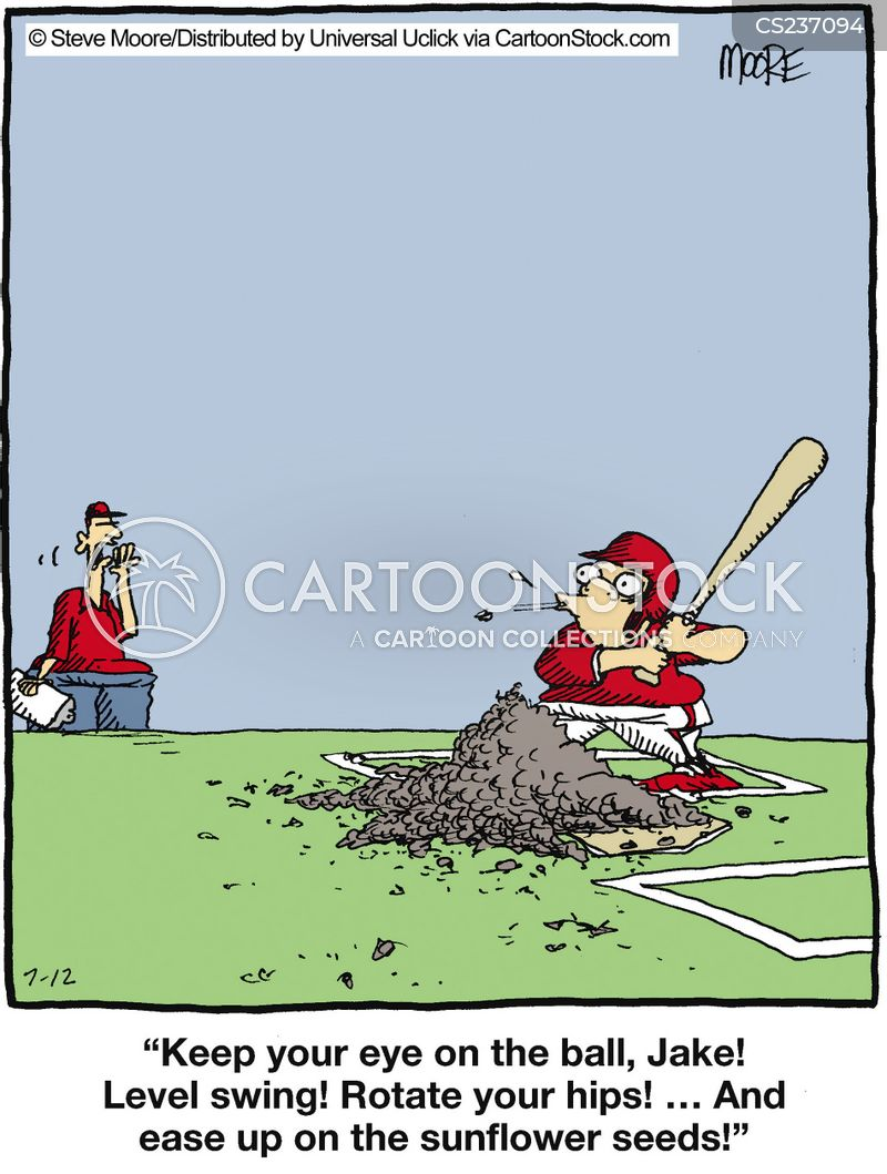 sunflower seeds cartoon