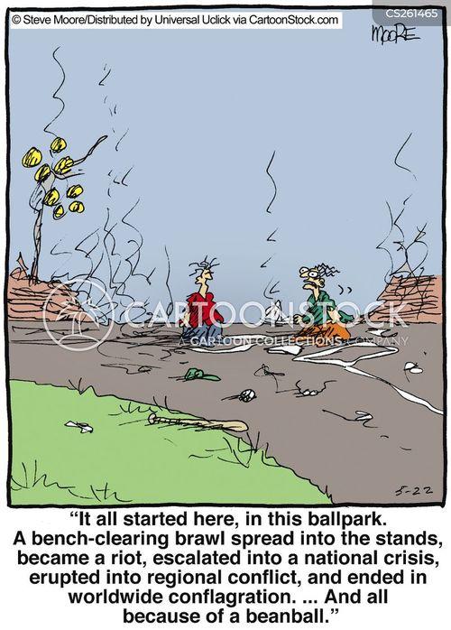 wreckage cartoon