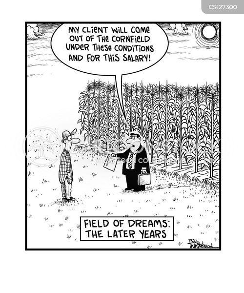 sports contract cartoon