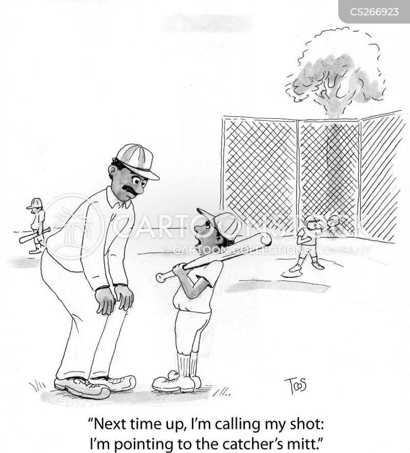 little league baseball cartoon
