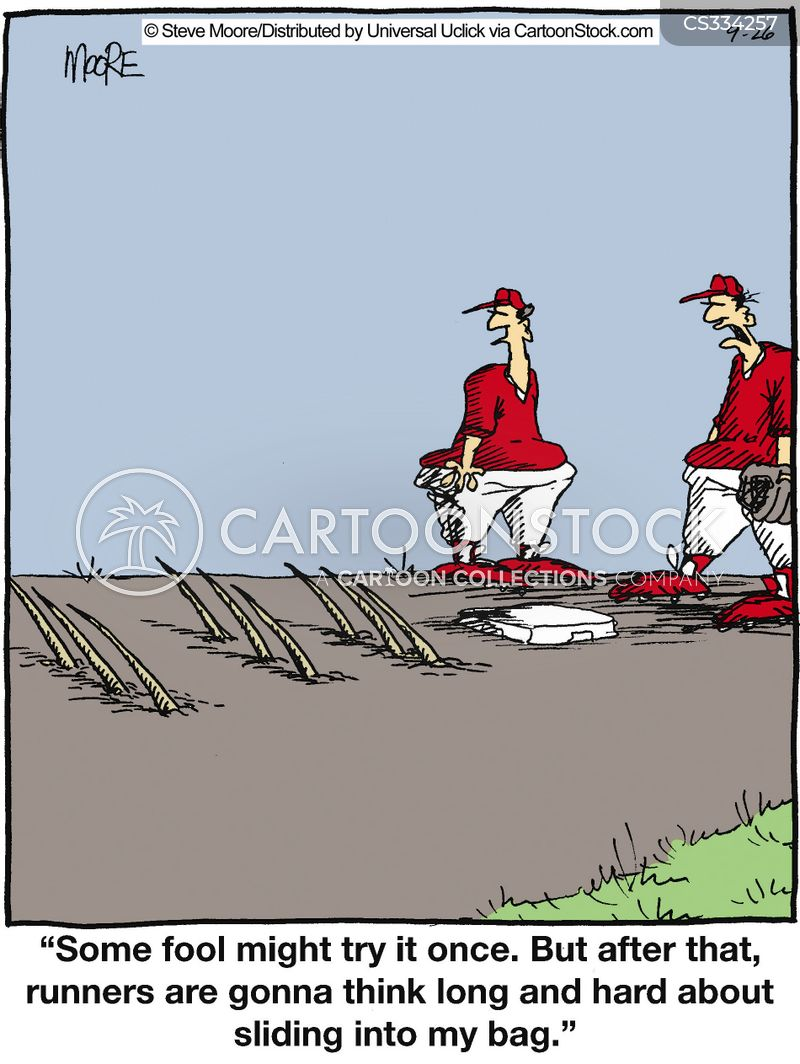 bases cartoon