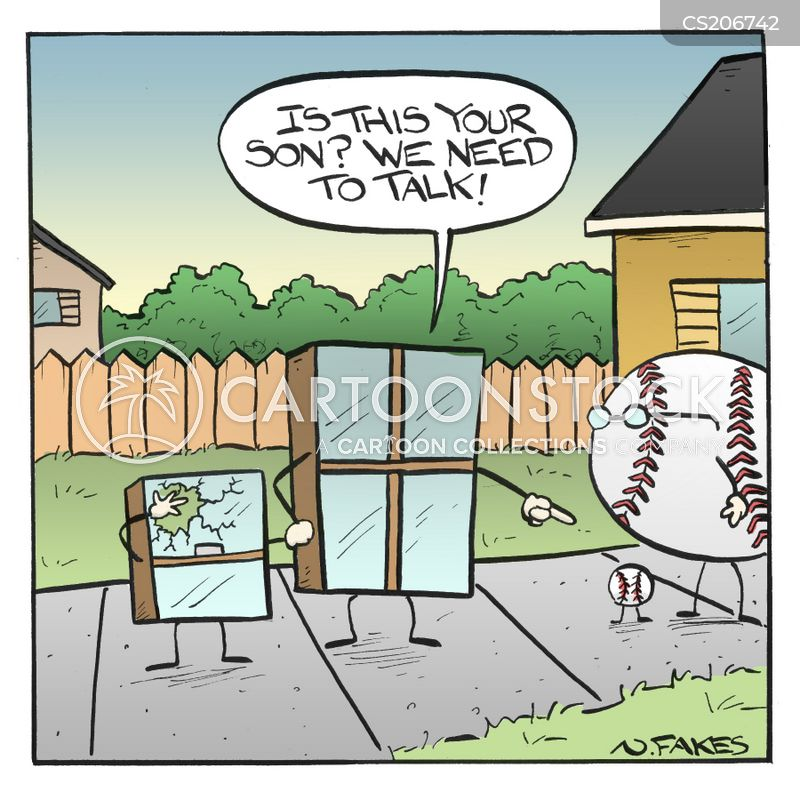 ball games cartoon