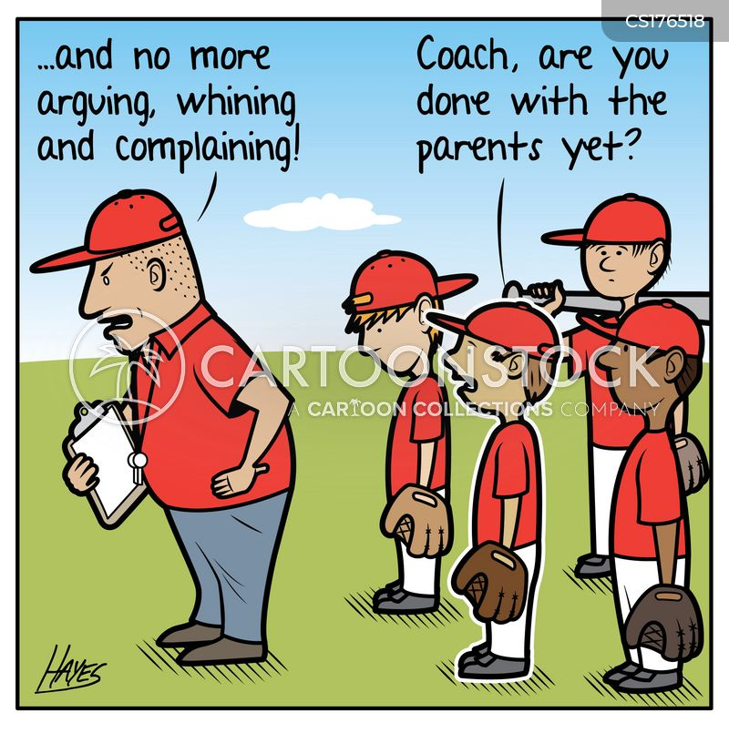 softball cartoon
