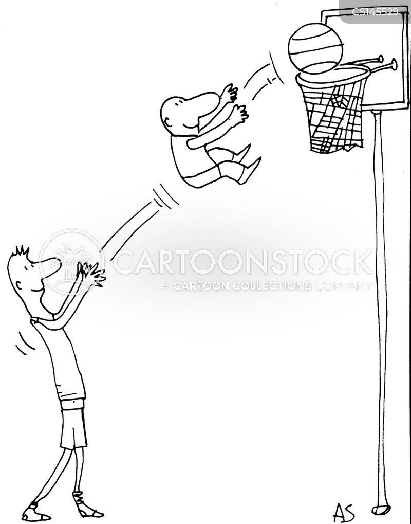 baskets cartoon