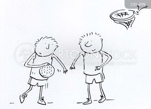 baskeball champions cartoon