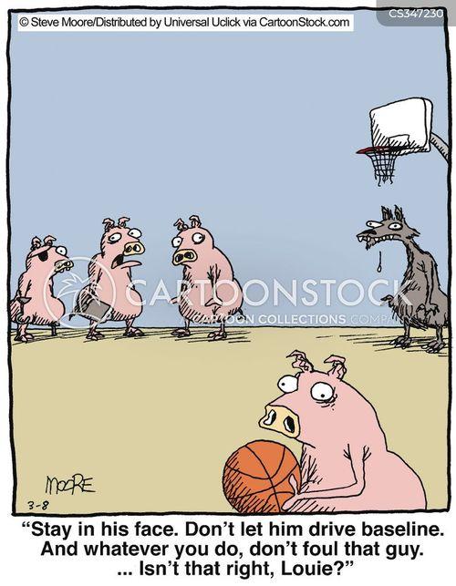 foulers cartoon