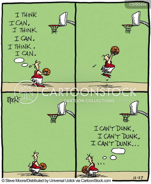 dunk cartoon