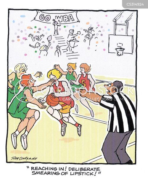 netball cartoon