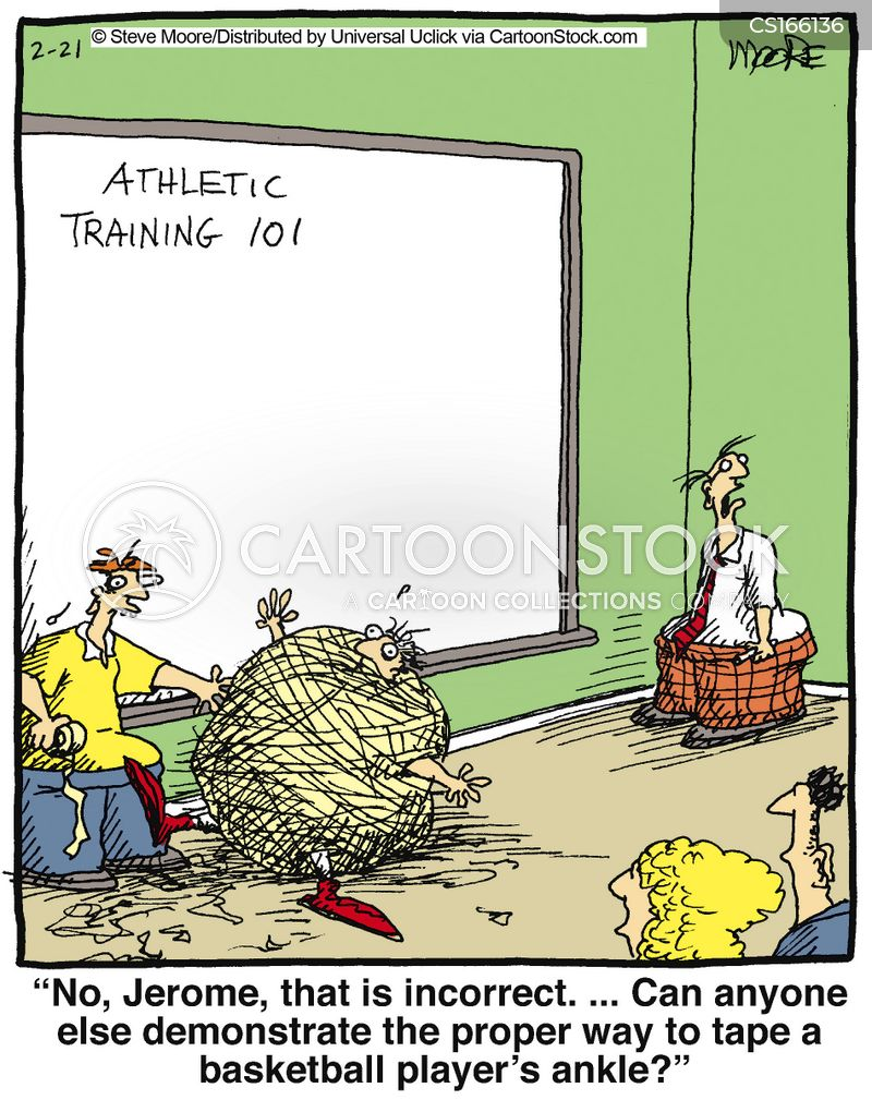 trainer cartoon