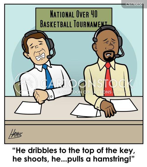 basketball tournament cartoon