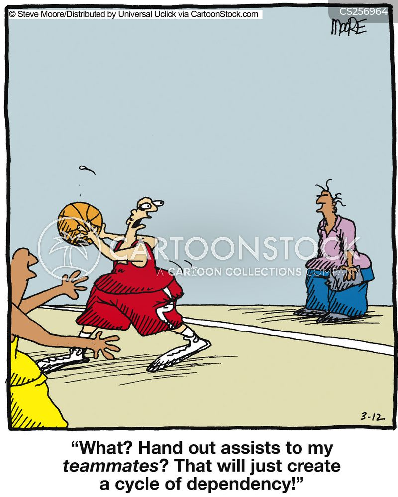 assists cartoon