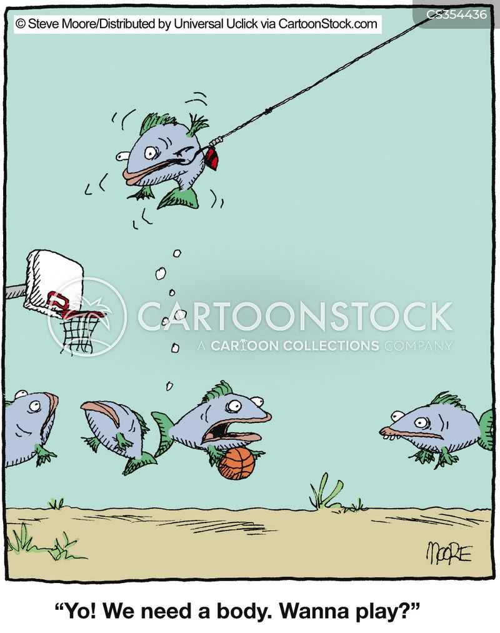 basketballers cartoon