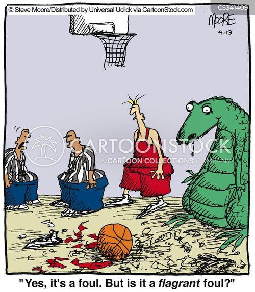 glaring cartoon