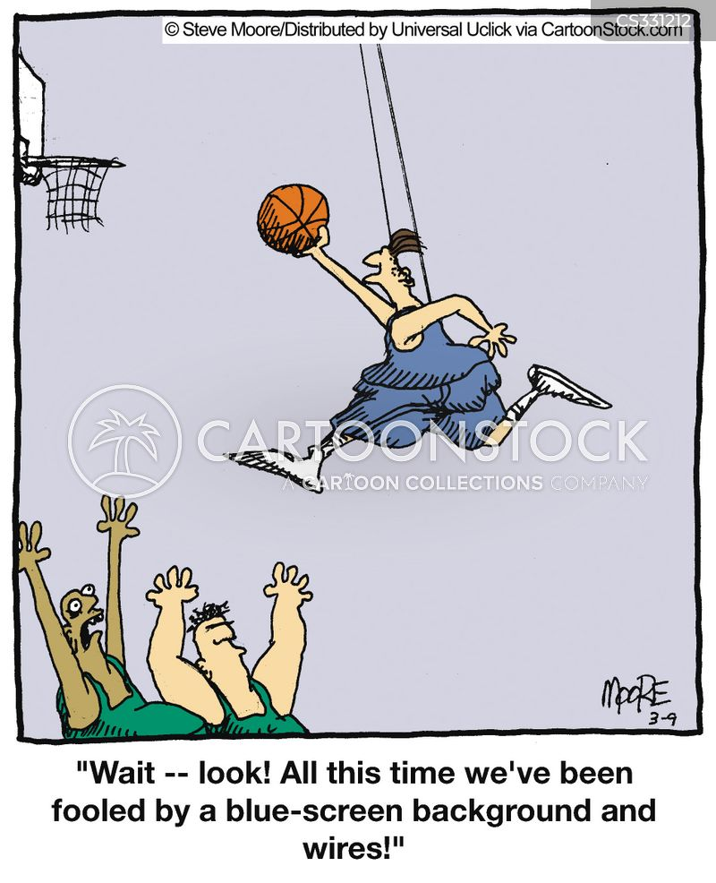 slam dunk cartoon