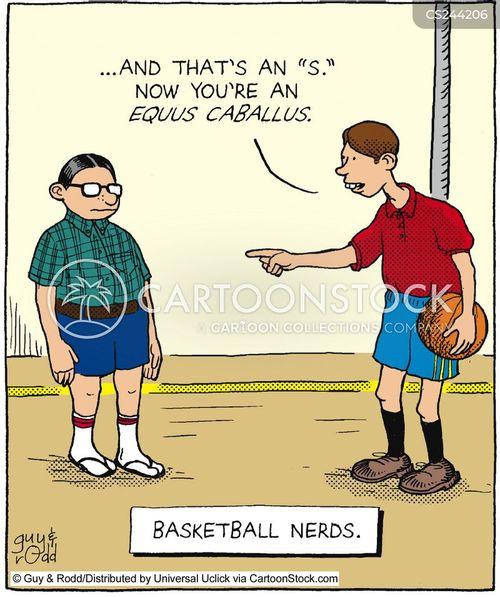 gym lessons cartoon