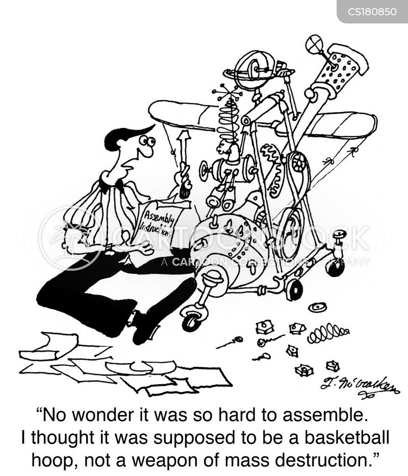 some assembly required cartoon