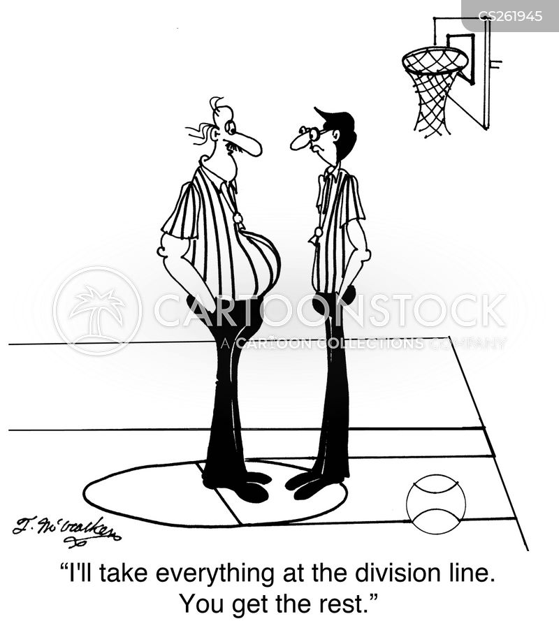 division line cartoon