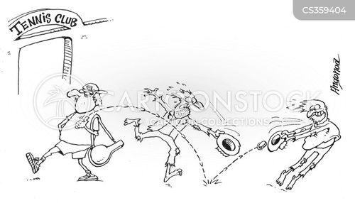 volley cartoon