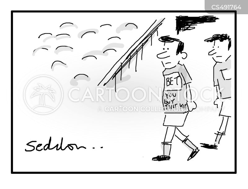 sports sponsors cartoon