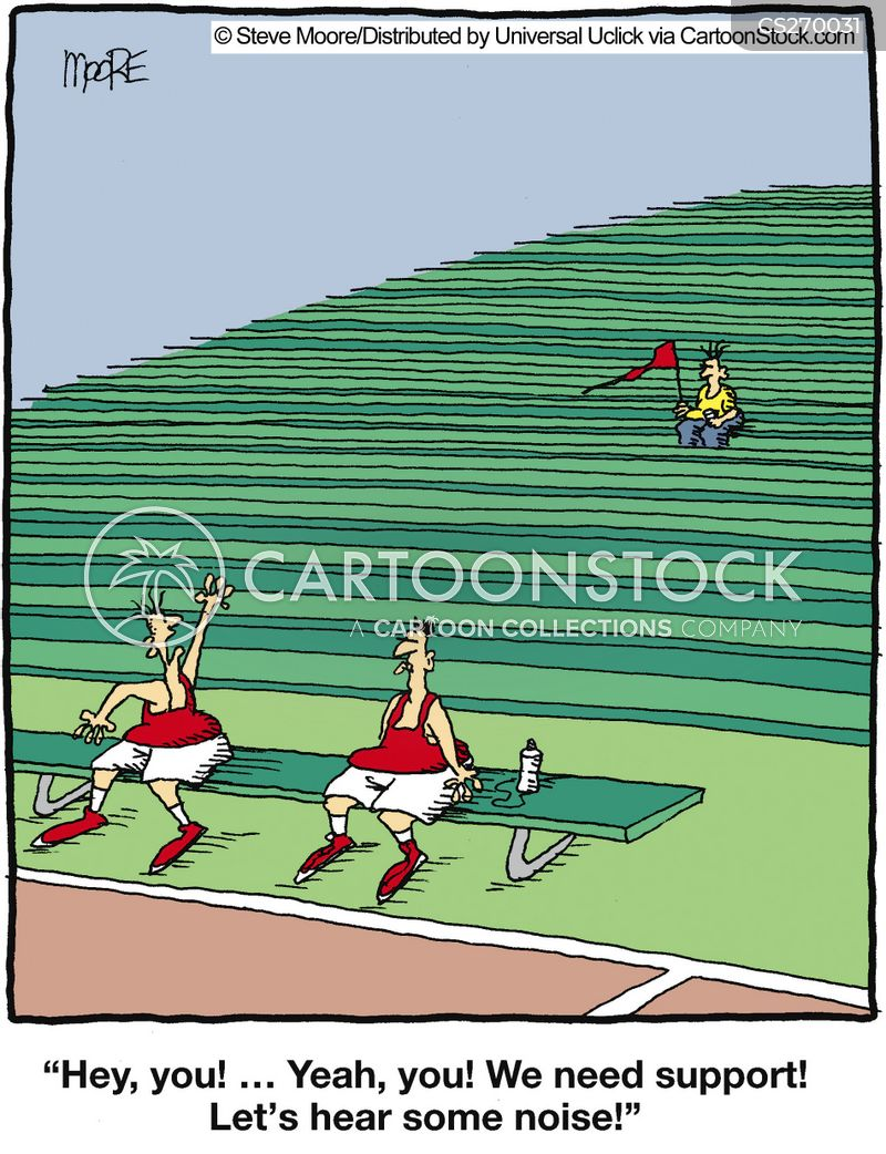 spectating cartoon