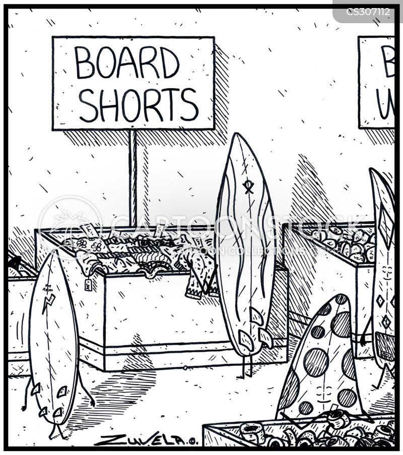 beachwear cartoon