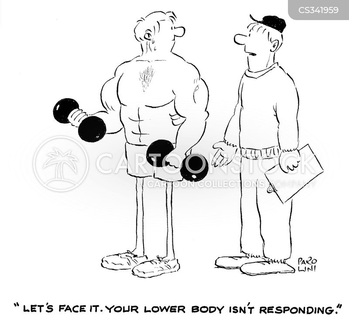 lower body cartoon