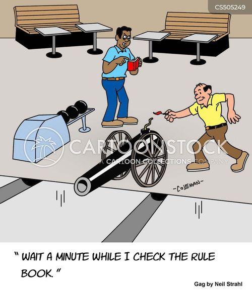 canon ball cartoon