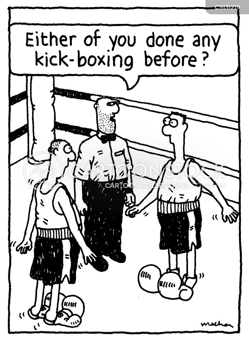 first fights cartoon