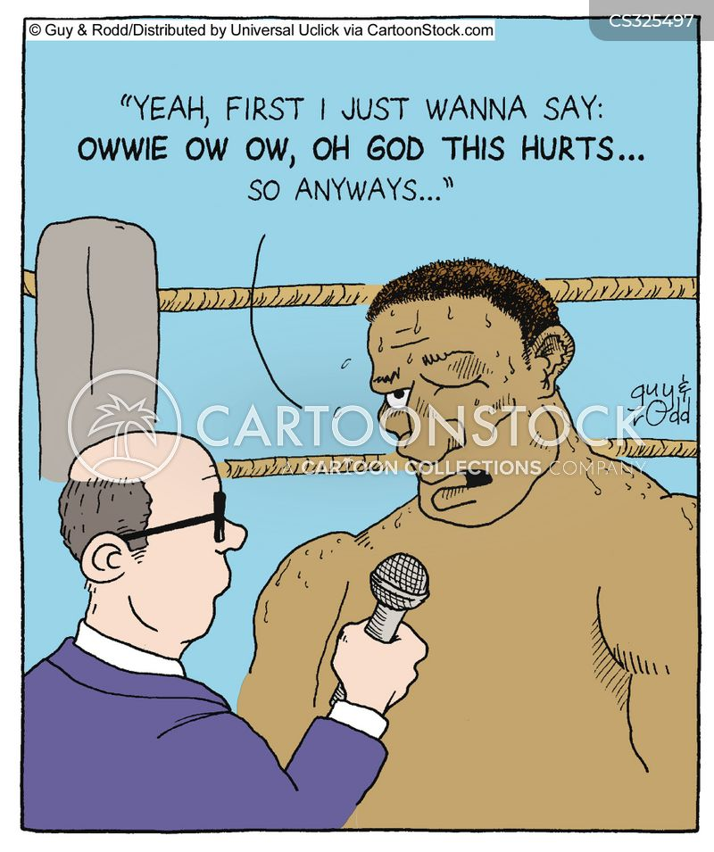 big fight cartoon
