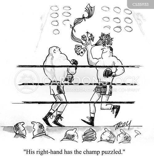 right hand cartoon