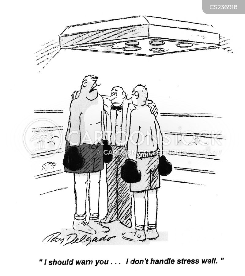 stress managements cartoon