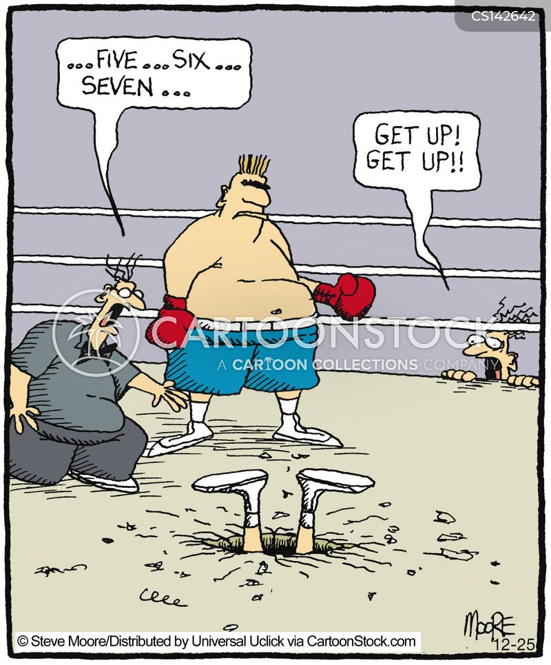 knockout cartoon