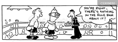 prizefighters cartoon