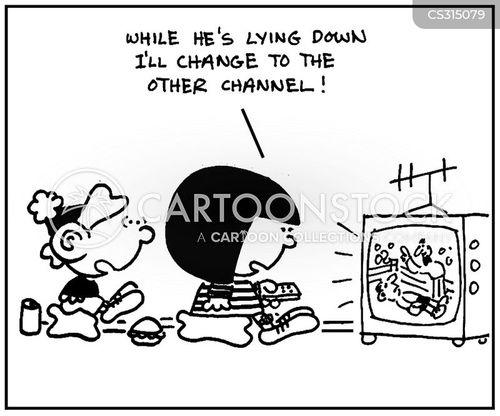 channel hopping cartoon
