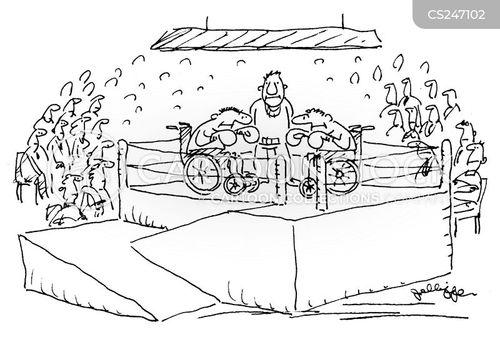 disabled accesses cartoon