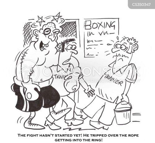 boxed cartoon