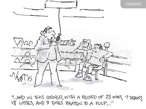 fist fight cartoon