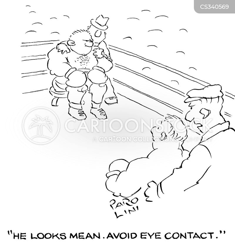 intimidation technique cartoon