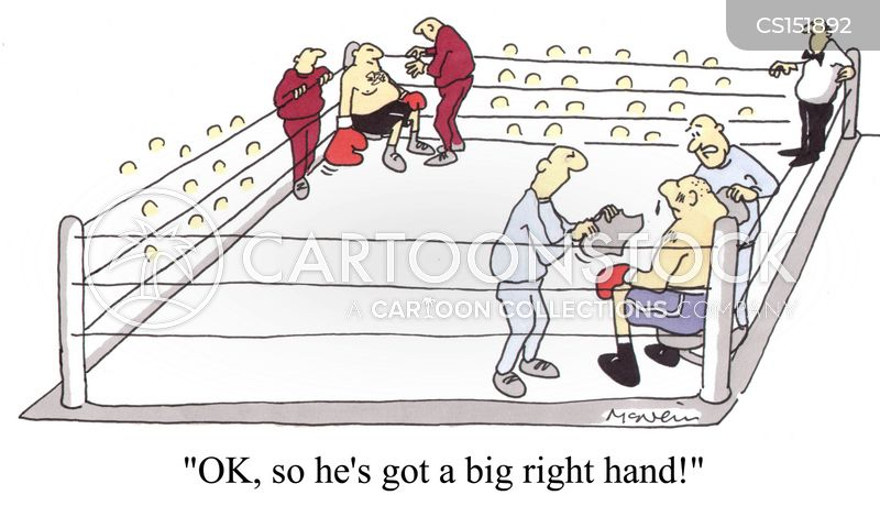 big hand cartoon