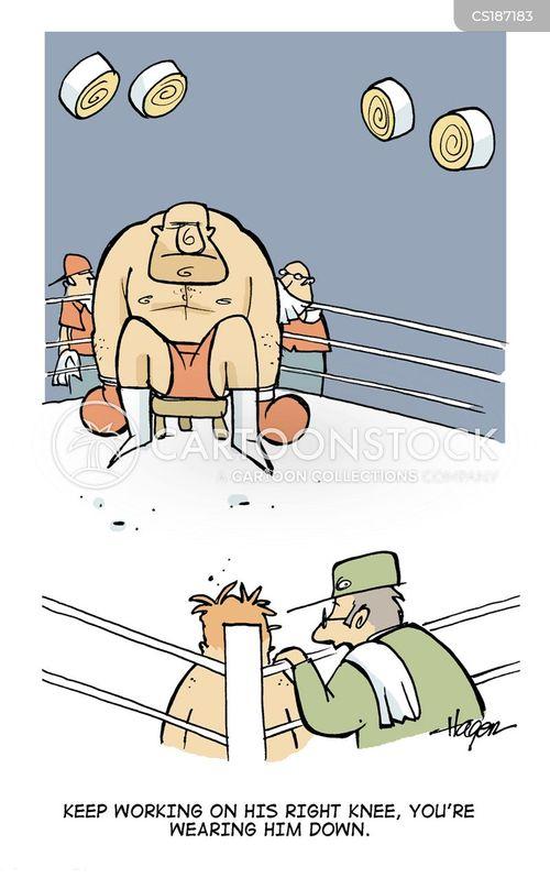 light weights cartoon