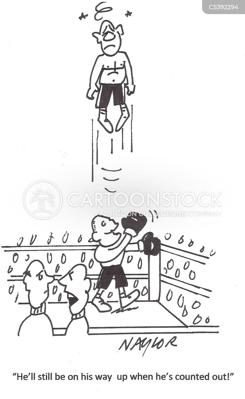 knock outs cartoon