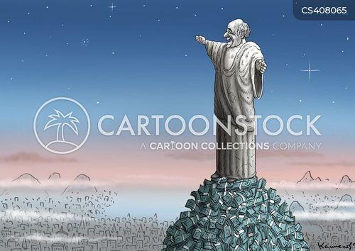 brazil 2014 cartoon