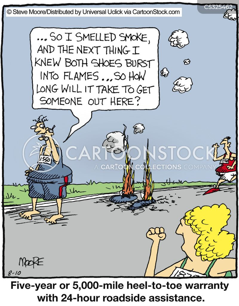 triathlons cartoon