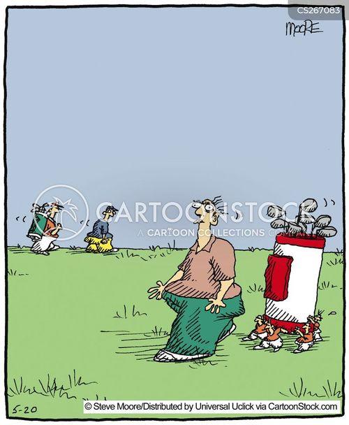 tricky shots cartoon