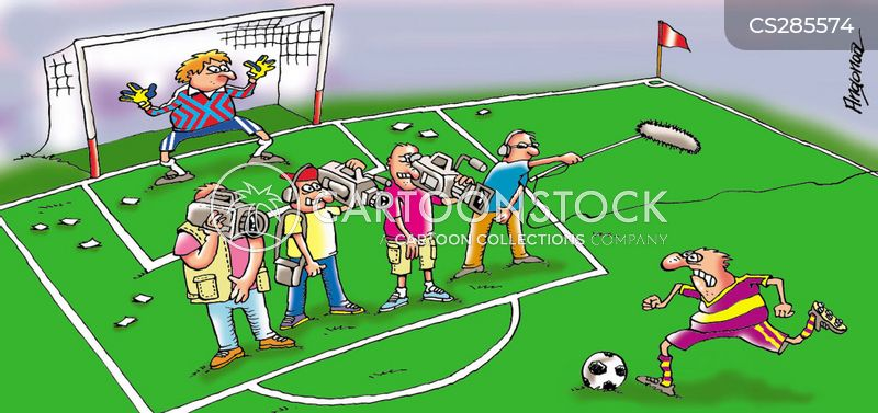 penalty kick cartoons and comics funny pictures from