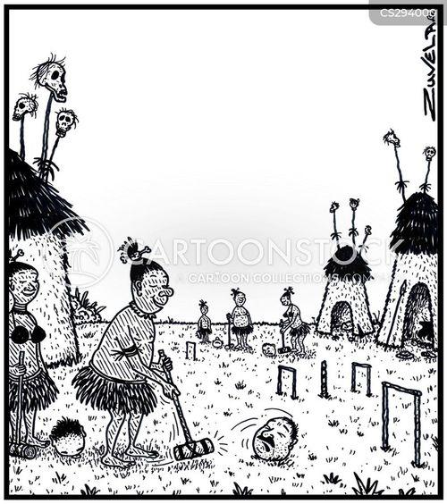 croquet cartoon