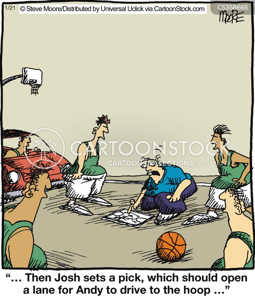 obstruction cartoon