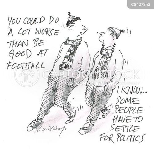 public figure cartoon