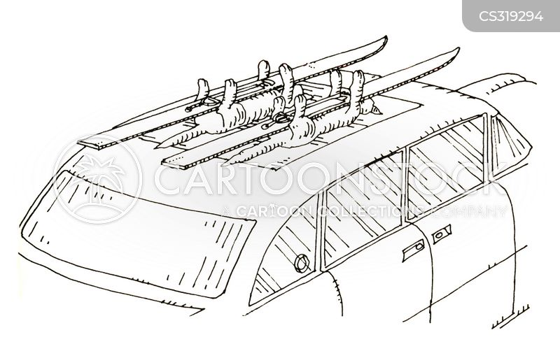 roof rack cartoon