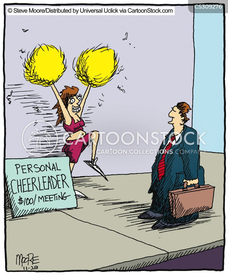 confidence boosters cartoon